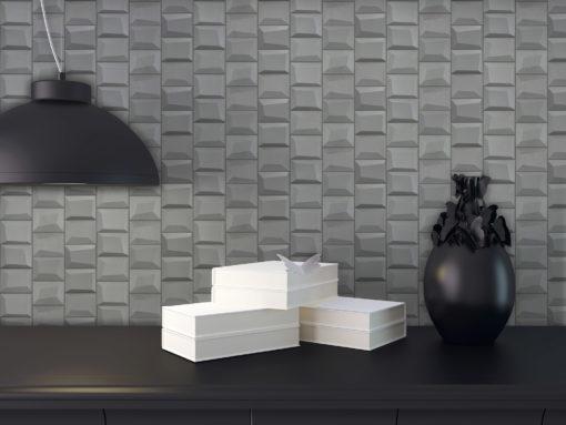 Foggy Blocks Tile