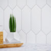 Blanco Pickett Tile