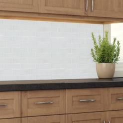 Frost 2X6 Tile Backsplash