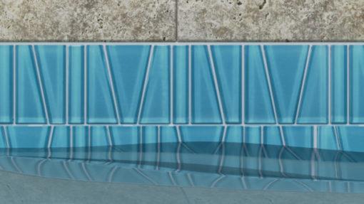 Fringe Aqua Sea Tile