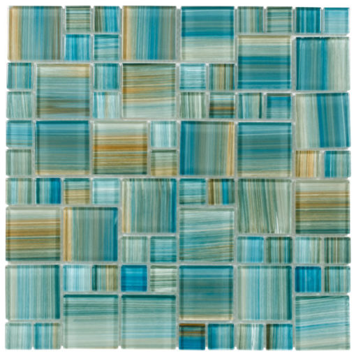 Neptune Blocks Emerald Tile