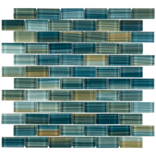 Neptune Emerald 1x2 Tile