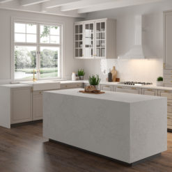 Adagio Gold LG Viatera Quartz Kitchen1