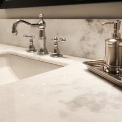 Afyon White Marble Bathroom