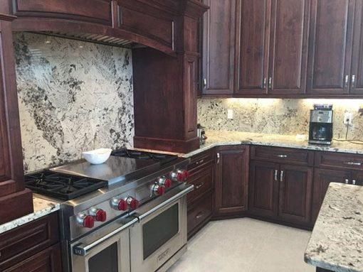 Alaska Cream Granite Kitchen