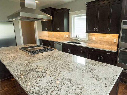 Alaska Cream Granite Kitchen1