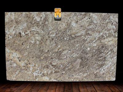 Alaska Cream Granite Slab1