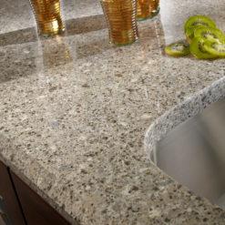 Alpina White Silestone Quartz Counter
