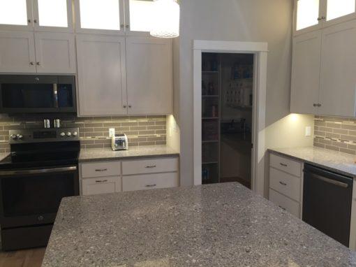 Alpina White Silestone Quartz Kitchen