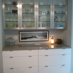 Alpina White Silestone Quartz Kitchen1
