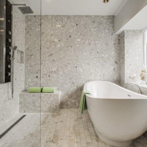 Arabescato Bianco Marble Bathroom 1