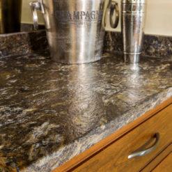 Asterix Brushed Granite Kitchen