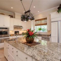 Bianco Antico Scuro Granite Kitchen