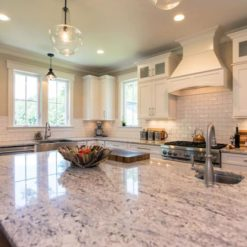 Bianco Antico Scuro Granite Kitchen1