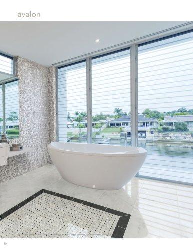 Bianco Avalon Marble Bathroom