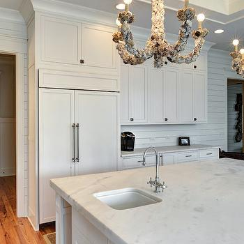 Bianco Avalon Marble Kitchen