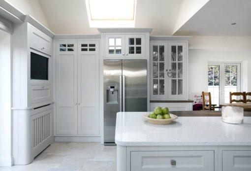 Bianco River Silestone Quartz Kitchen1