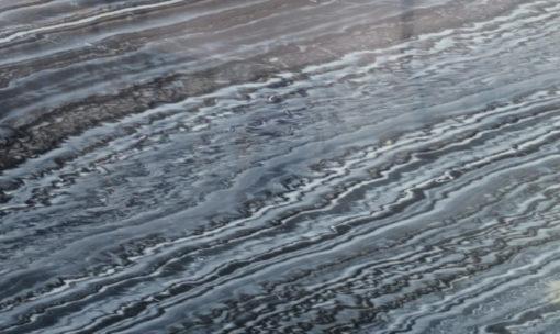Black Volcano Marble Full Slab