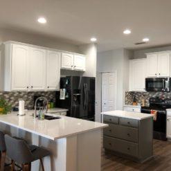 Blanco Maple Silestone Quartz Kitchen
