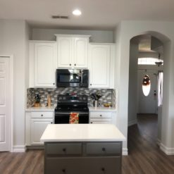 Blanco Maple Silestone Quartz Kitchen2