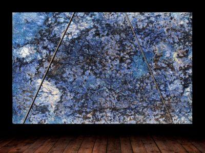 Blue Agata Treated Granite Slab