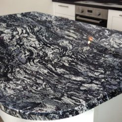 Blue Fantasy Granite Kitchen