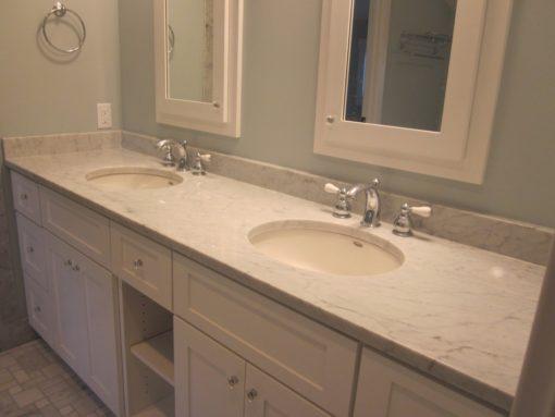 Bottocino Classico Marble Bathroom