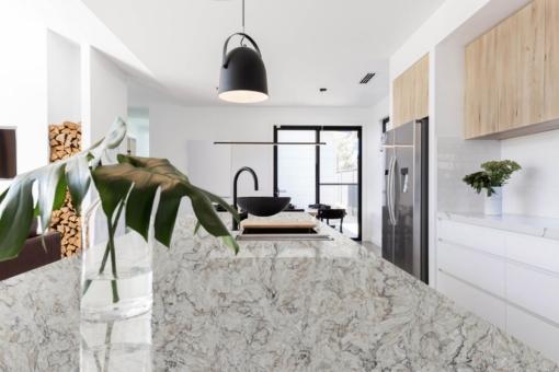 Brule Quantum Quartz Kitchen Countertops