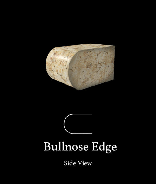 Full Bullnose Edge Countertop Edges
