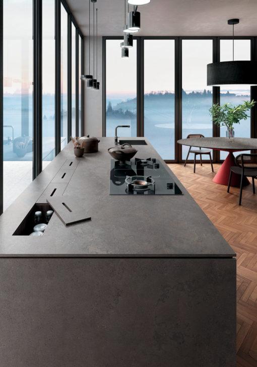 Buxy Select Infinity Porcelain Kitchen Island
