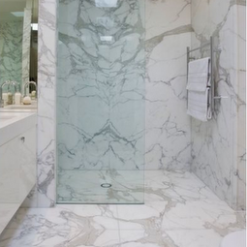 Calacatta Berrini Marble Bathroom