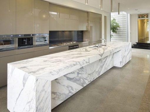 Calacatta Berrini Marble Kitchen