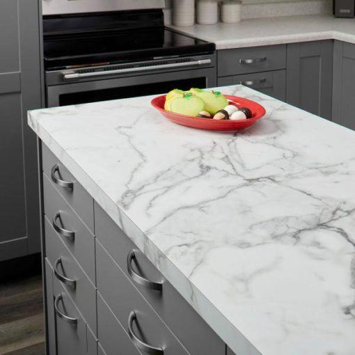 Calacatta Diamond Marble Kitchen