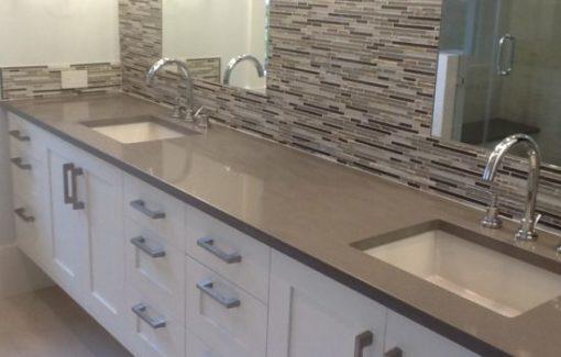 Carbono Silestone Quartz Bathroom