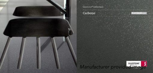 Carbono Silestone Quartz Sample