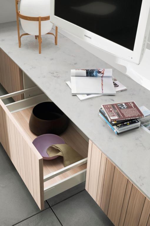 Carrara White Quantum Quartz Countertops