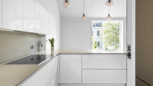 Coral Clay Colour Silestone Quartz Kitchen