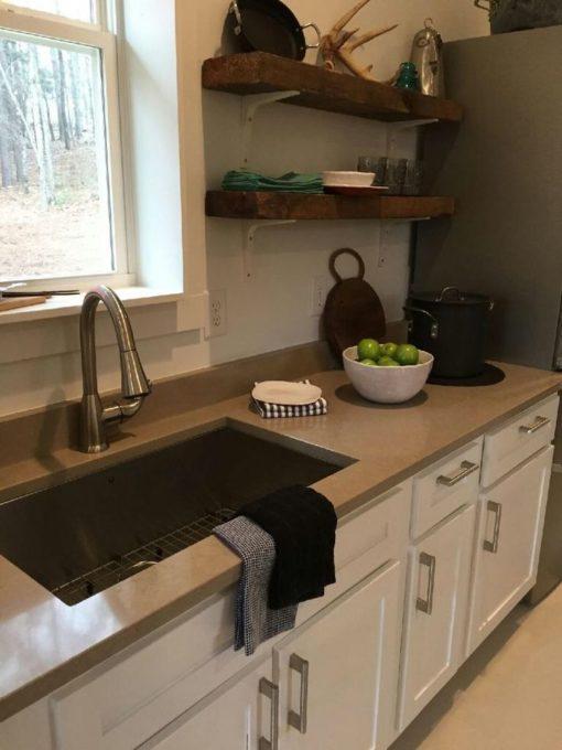 Coral Clay Colour Silestone Quartz Kitchen2