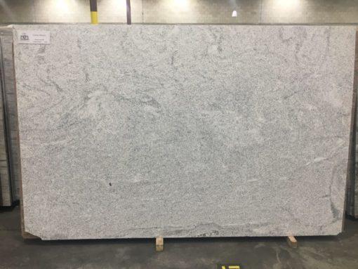 Cotton White Granite Slab