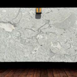 Cotton White Granite Slab1