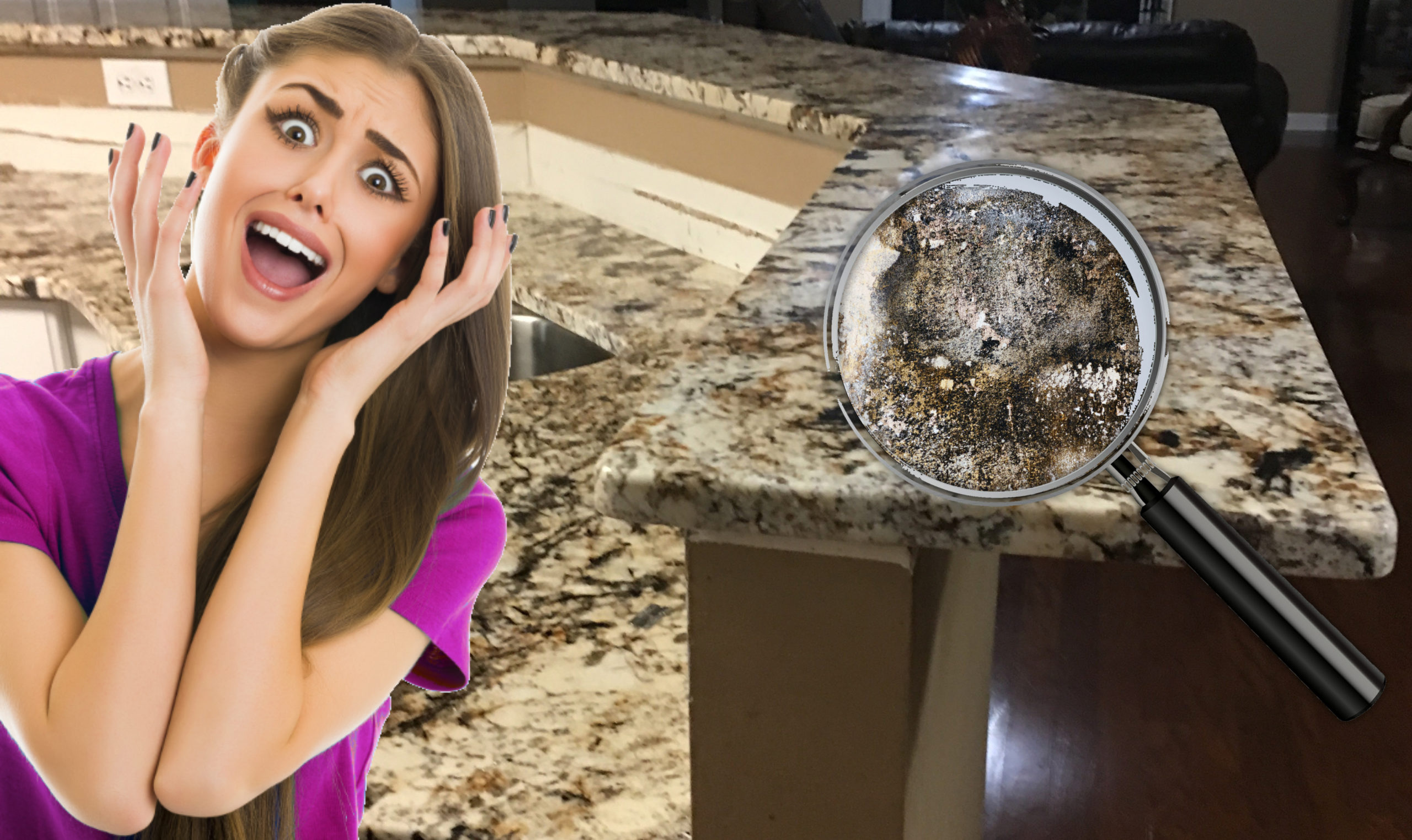 Health Concerns and Risks Associated with Old Countertops and Surfaces