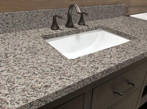 Crema Atlantico Granite Bathroom