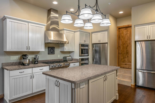 Crema Caramel Granite Kitchen1
