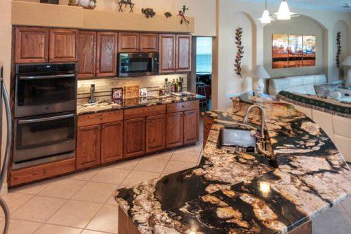 Crema Royale Granite Kitchen