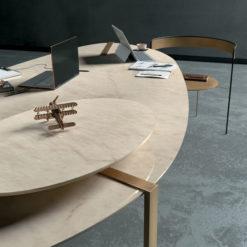 Crystal Amber Infinity Porcelain Countertops