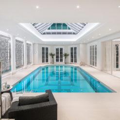 Danae Dekton Flooring by Pool