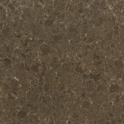 Dark Emperador Pompeii Quartz Full Slab