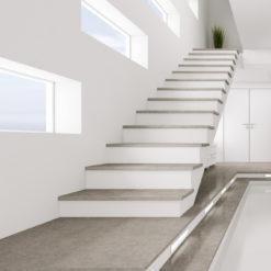 Dekton Vegha Stairway Flooring