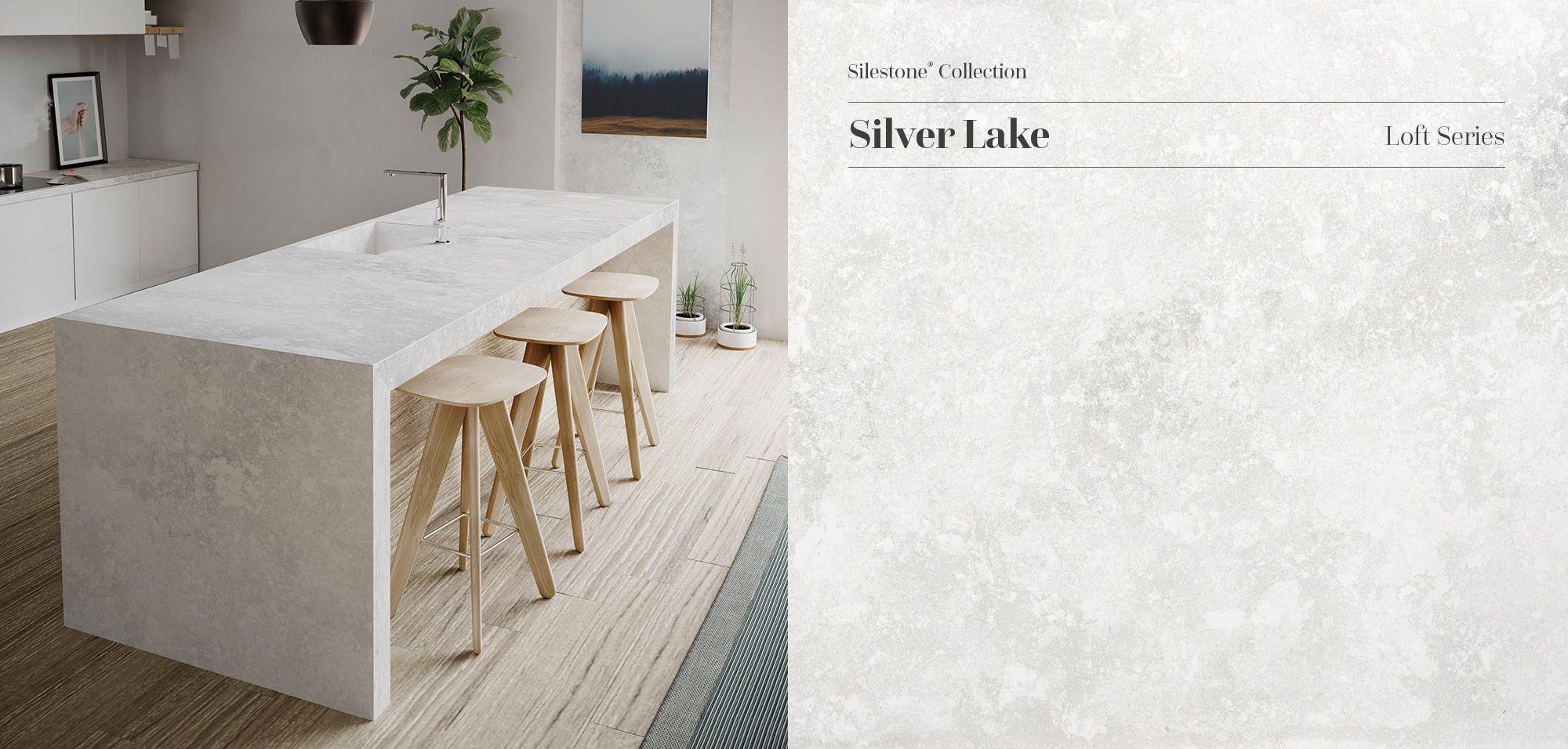 Desert Silver Silestone Quartz Sample Kitchen silestone countertops