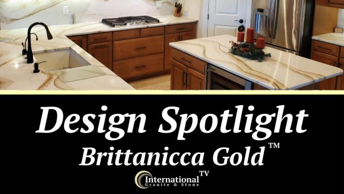 Brittanicca Gold Cambria Quartz Countertops Design Spotlight